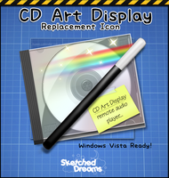 CD Art Display Replacement Ico by sketched-dreams