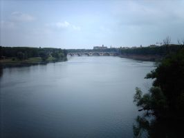 Toulouse La Garonne by Troxone