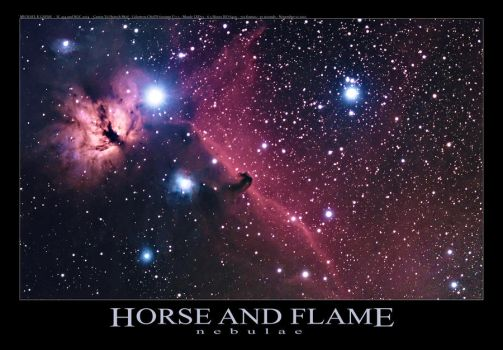 Horse and Flame by LakeFX