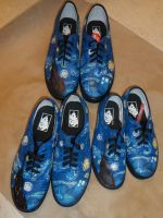 Van Gogh Tardis Shoes by werewolfshadow29