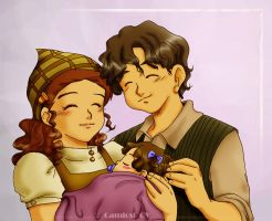 Samwise Gamgee's family by camlost