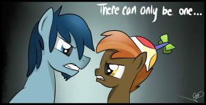 There can only be one... by Balloons504