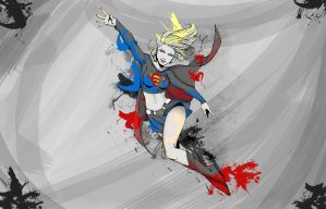 Supergirl - color2 by stren-yue