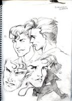 Kurt Wagner sketches by Sondra
