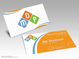 business card MDP - A by Erfanix