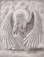 An Angel's Prayers by Artsy50
