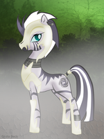 Nightmare Zecora by Giuliabeck