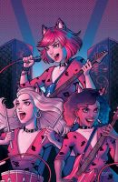 Josie and the Pussycats by chrissie-zullo