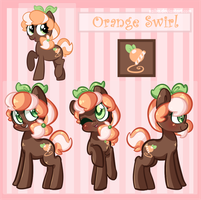 Orange Swirl Reference *OLD* by Xaika