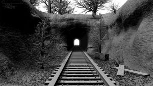 Railway Tunnel by iKPACH