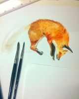 WIP redfox by Guindagear