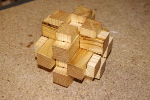 Wooden Puzzle by n8schatten