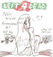 Left 4 Dead PSA Witches by deusprogrammer