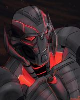 Ultron by Moontowhee