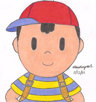 Ness by MarioSimpson1