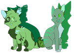 Palette Challenge ~ Mint and Flight by TheGreatCattacoon