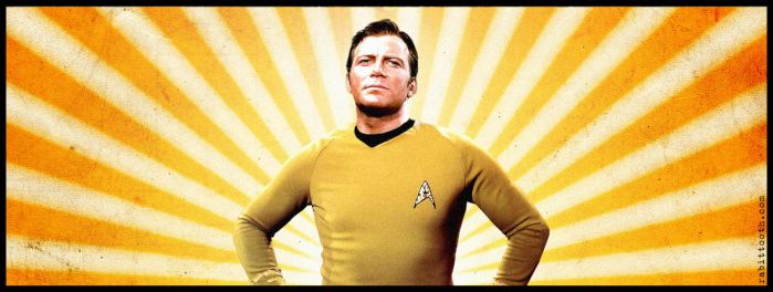 James T. Kirk Detail by Rabittooth