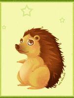 Hedgehog by Valixy