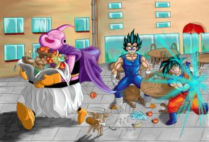 Dragon Ball - After eating by Arthadel