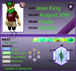 Jean King Second Character by lolcatsarelol