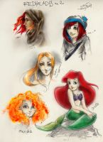 redheads no. 2 by cherryclaires