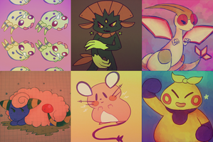 pokes by cactuscakes