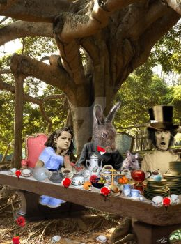 A Mad Tea Party - uncropped by synchronicity313