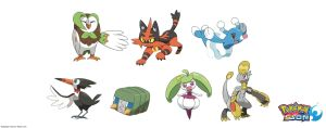 Pokemon: 3-Stage Evolutions - Alola: Middle Stage