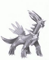 Dialga (Pokemon) by MarkusBogner