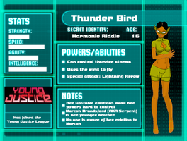 Thunder Bird Stats by Lavender-chan
