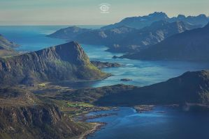 Lofoten - Offersoykammen view by MD-Arts