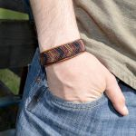 Tribal-Leather-Bracelet by Glamour365