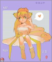 . Vulpix :3 . by Nekodollz