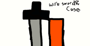 wil's sword and case by andre00190