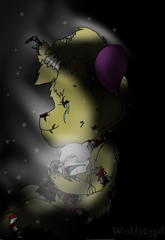 Fnaf : Love is stronger than hate by Wolf123pl