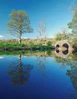 Reflections at Drum Bridge by Gerard1972