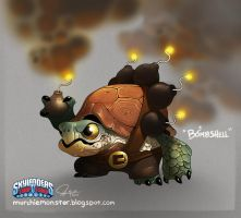 Skylanders Trap Team: Bombshell by MURCHIEMONSTER