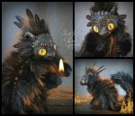 Ember the Baby Fire Dragon - Fantasy Creature by RikerCreatures