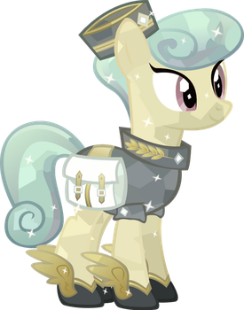 Crystal Messenger pony Mercury by Vector-Brony