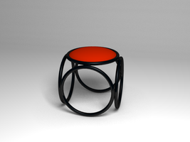 Ring Stool model multiformat by drdearth