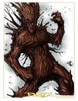 Groot by Lazaer