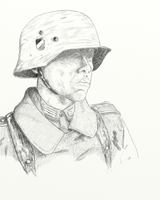 German Soldier by GoodOldRetro