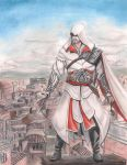 EZIO AUDITORE IN ROME by angell35art