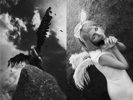 vocaloid: Black Wings by aKami777
