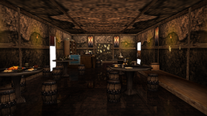 Old time bar with a few bones -DL- by kaahgome