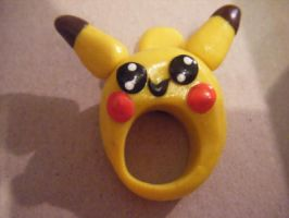 Pikachu ring by minecraftfox