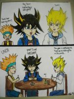 A 5D's Card Game by oneandonlyLLAT