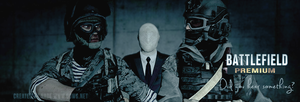 BF3/Slenderman crossover by GuMNade