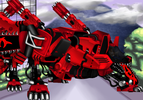 Commission Zoid by Anako-Kitsune
