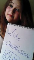 Fansign by a pierced girl for onerfusion by OnerFusion